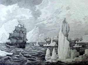 La Descubierta o la Atrevida en navegación